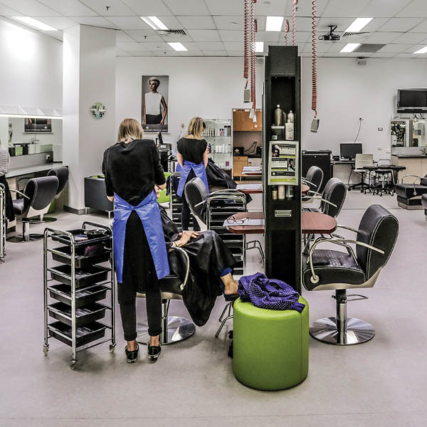 study beauty and hairdressing at tafe queensland