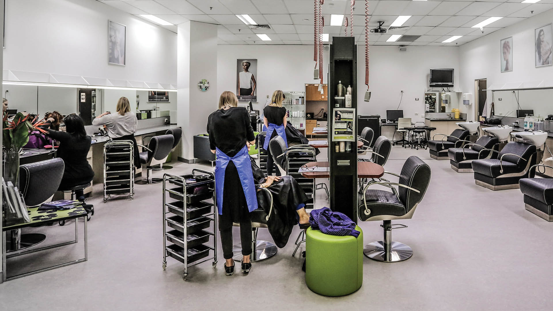 tafe queensland hairdressing salons