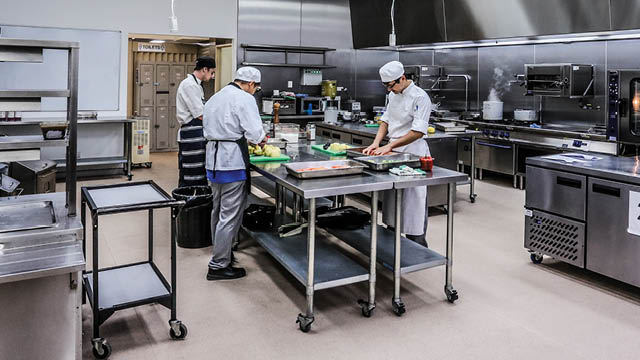 tafe queensland commercial kitchens training facility