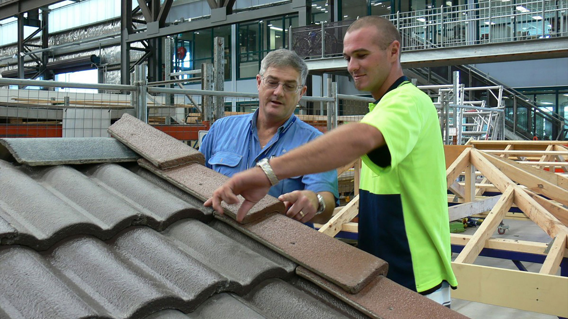 study roof tiling at tafe queensland