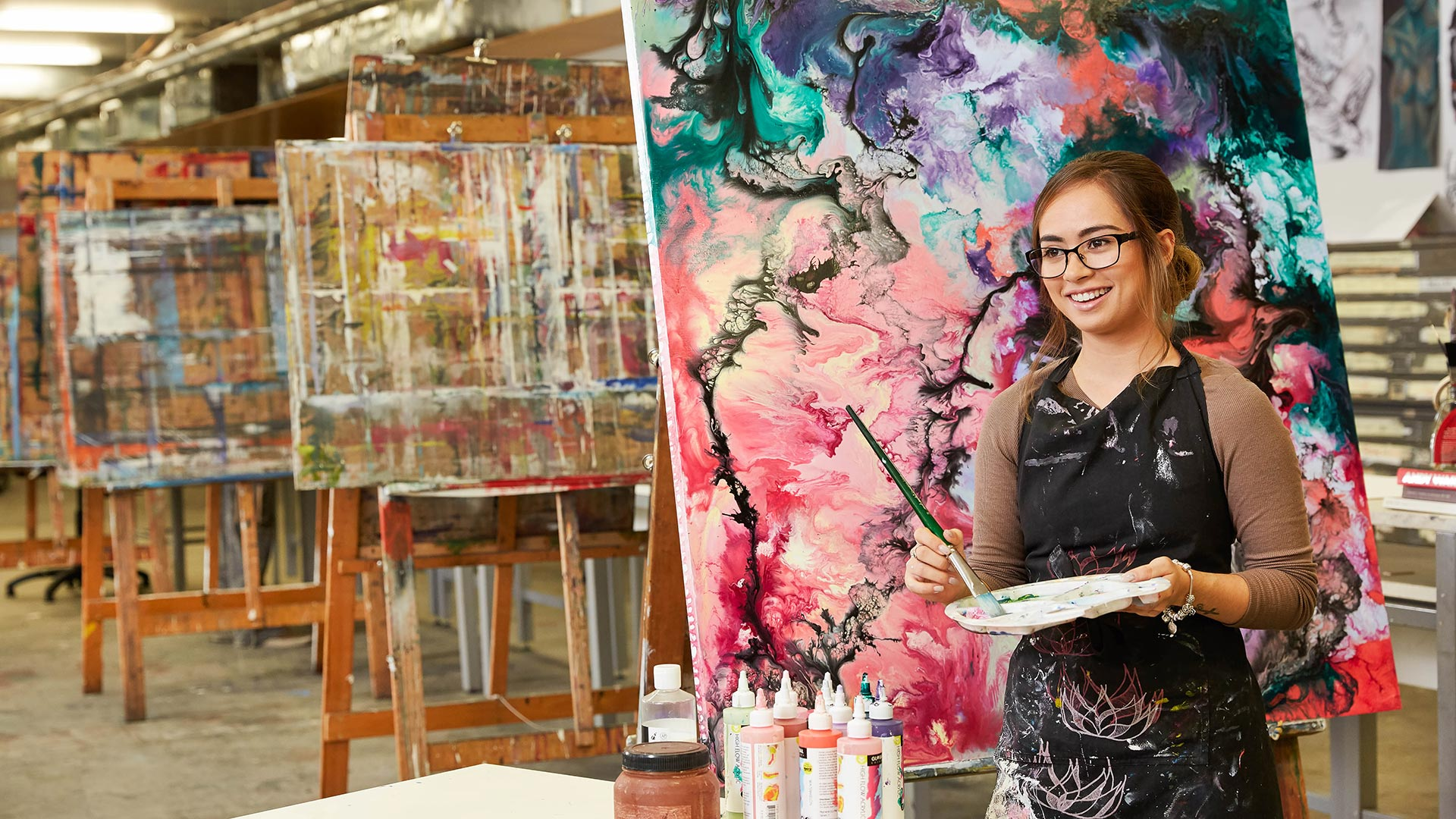 study visual arts at tafe queensland
