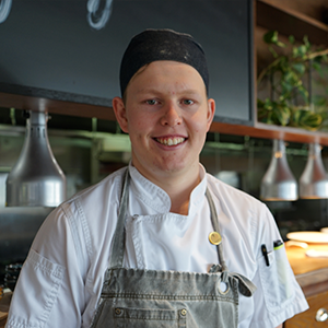 Alec Stemmler cookery graduate and chef